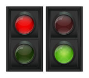 Traffic Light Vector Illustration Stock Photo