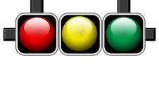 Traffic lights Royalty Free Stock Photos