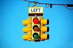 Traffic lights. On blue sky background Stock Photo