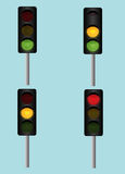 Traffic lights Royalty Free Stock Photo