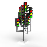 Traffic lights Royalty Free Stock Images