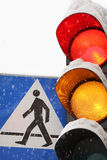 Traffic lights Royalty Free Stock Photography