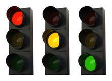 Traffic lights vector illustration