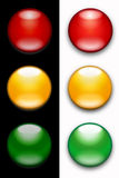 Traffic lights royalty free illustration