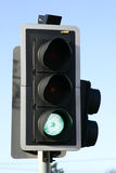 Traffic Lights. On Green Stock Images