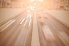 Traffic lights of the city road. Royalty Free Stock Photography