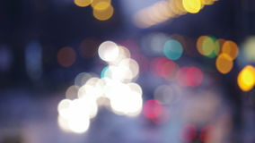 Traffic lights defocused Stock Image