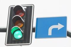 Traffic Lights Green Royalty Free Stock Photos