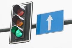 Traffic Lights Green Stock Photos