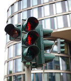 Traffic lights in Hamburg Royalty Free Stock Photo