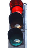Traffic lights icon red yellow green stop Royalty Free Stock Photos