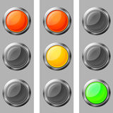 Traffic lights,  illustration Stock Photo