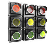 Traffic lights Stock Image