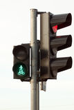 Traffic lights with a keen light Royalty Free Stock Photography