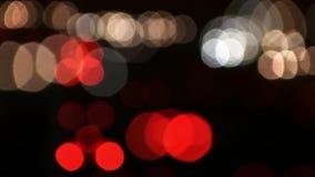 Traffic lights stock video footage