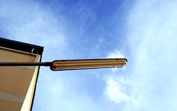 Traffic lights. Over blue sky. Thailand Royalty Free Stock Images