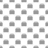 Traffic lights pattern vector. Traffic lights pattern seamless in simple style vector illustration Stock Photo