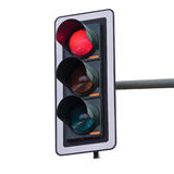 Traffic lights (red) Royalty Free Stock Photography