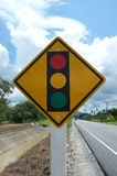 The traffic lights Royalty Free Stock Photo