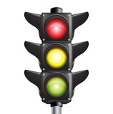 Traffic lights sign Stock Images