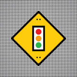 Traffic lights symbol Stock Images