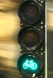 Traffic lights to control. Red traffic light signal prohibits the movement Royalty Free Stock Images