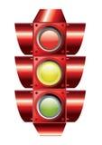 Traffic lights vector. An illustration of traffic lights Stock Photo