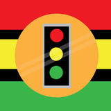 Traffic lights vector Royalty Free Stock Photos