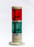Traffic lights on a white background Royalty Free Stock Photography