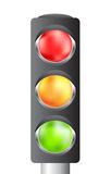 Traffic lights for your design Stock Photography