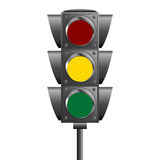 Traffic ligths pole Stock Photography