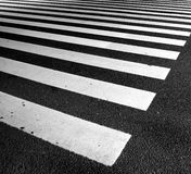 Traffic lines on asphalt Royalty Free Stock Photos
