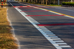 Traffic lines. Royalty Free Stock Photo