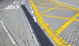 Traffic linjen Arkivfoto