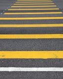 Traffic linjen Arkivfoton