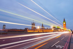 Traffic through London Stock Photos