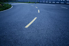 Traffic marking on the road Stock Photography