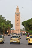 Traffic in Marrakesh, Morocco. Stock Images