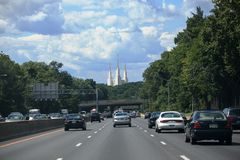 Traffic Metropolitan Area Beltway Stock Photos