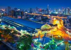 Bangkok central train station, Thailand Stock Photo