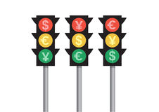 Traffic money Royalty Free Stock Photo