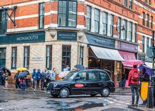 Traffic at Monmouth Coffee stock photography