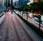 Traffic in motion. Stock Photo