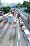 Traffic motion blur Royalty Free Stock Photography