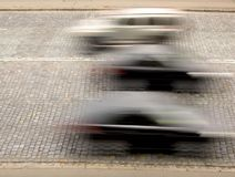 Traffic with motion blur Royalty Free Stock Image