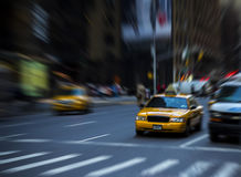 Traffic in motion Royalty Free Stock Image