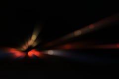 Traffic motion at night bokeh Royalty Free Stock Image