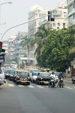 Traffic at Mumbai -most populous city in India Stock Images
