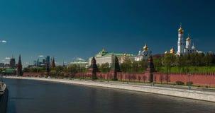 Traffic near Kremlin, Moscow, Russia stock footage