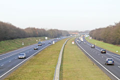Traffic in the Netherlands Royalty Free Stock Photos